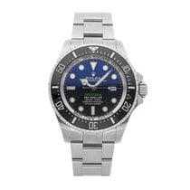 Rolex Sea-Dweller Deepsea pre-owned 44mm Blue Date Fold clasp