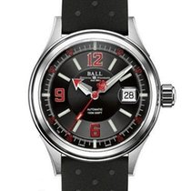 Ball Fireman Racer Steel 40mm Black United States of America, New Jersey, Edgewater