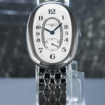 Longines Symphonette pre-owned 25mm Mother of pearl Steel