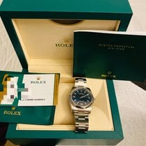 Rolex Oyster Perpetual 36 Steel 36mm Blue Arabic numerals United States of America, New York, Long Island City