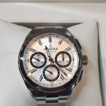 Alpina Alpiner Steel 44mm Silver No numerals
