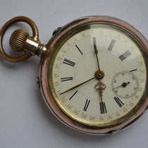 Breguet Watch pre-owned 1890 Silver 50mm Manual winding Watch only