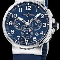 Ulysse Nardin Marine Chronograph Manufacture - Voyage bleu -...
