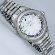Ebel Onde Steel 30mm Mother of pearl Arabic numerals