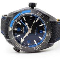 Omega Seamaster Planet Ocean Ceramic 45,5mm Black Arabic numerals