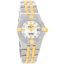 Breitling Galactic 30 Gold/Steel 30mm White United States of America, Georgia, Atlanta