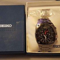 Seiko Vintage Seiko Sportura Kinetic Chronograph 7l22-0ad0...