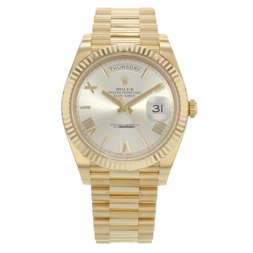 acb07576d06 Rolex Day-Date 40 228238 srp 18K Yellow Gold Automatic Men's... for $30,499  for sale from a Trusted Seller on Chrono24