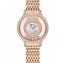 Chopard Happy Sport Icons 18K Rose Gold & Diamonds Ladies Watch