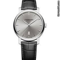 Chopard Classic White gold 40mm Grey No numerals United States of America, New York, NEW YORK