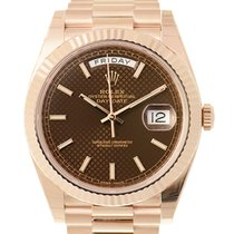 勞力士 (Rolex) Day-date 18k Rose Gold Brown Automatic 228235BRDEC...