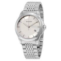 Gucci Men's YA126401 G Timeless Quartz Watch