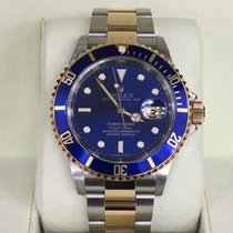 Rolex Submariner Date Two-Tone D serial 2005 Box and Papers