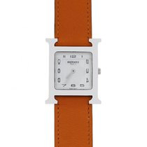 Hermès HH1.510 Stainless Steel Wrap Around Leather Watch
