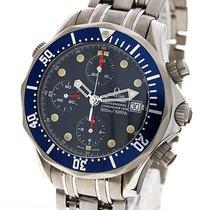 Omega Seamaster Diver 41mm Chronograph Titanium 2298.80.00...