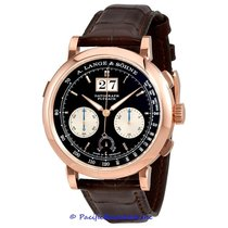 A. Lange & Söhne Datograph new Manual winding Chronograph Watch with original box and original papers 405.031