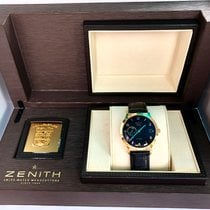 Zenith Yellow gold Automatic pre-owned Elite