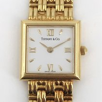 Tiffany Zuto zlato 26mm Kvarc rabljen