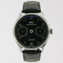 IWC Portuguese Automatic Ref# IW500109, Stainless Steel, B+P