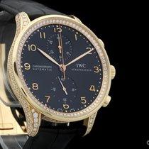 IWC Portugieser Chronograph 40,9mm, Rosegold, Diamantbesatz,...