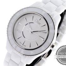 Dior Ceramic Quartz White No numerals 33mm pre-owned VIII