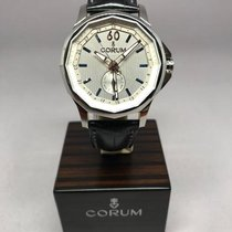 Corum Chronometer 42mm Automatic 2018 new Admiral's Cup Legend 42 White