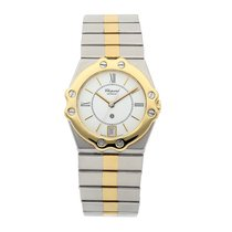 Chopard St. Moritz Staal 30mm Wit Romeins