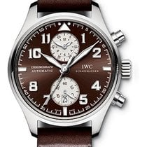 IWC IW387806 Steel Pilot Spitfire Chronograph 43mm new United States of America, New York, New York