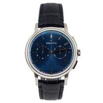 Zenith Elite Chronograph Classic Acier 42mm Bleu