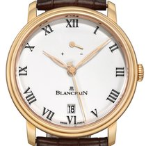 Blancpain Aur roz 42mm Armare manuala 6613-3631-55B nou