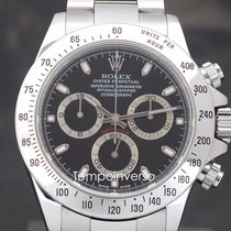 Rolex 116520 Steel 2003 Daytona 40mm pre-owned United Kingdom, London, Paris, Brussels & Barcelona delivery face to face only - other countries shipping with Brinks & DHL Express