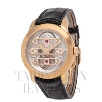 Girard Perregaux Rose gold 41mm Automatic 99193-52-002-BA6A pre-owned United States of America, New York, Hartsdale