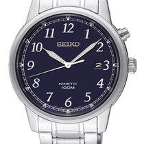 Seiko Kinetic Steel 40mm Blue