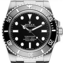 Rolex Submariner (No Date) Ατσάλι 40mm Μαύρο