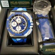 Audemars Piguet Royal Oak Offshore Chronograph Zeljezo 44mm Plav-modar
