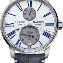 Ulysse Nardin Marine Torpilleur Steel 42mm White United States of America, New York, Airmont