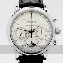 Patek Philippe Perpetual Calendar Chronograph 5204P-010 Unworn Platinum 40mm Manual winding