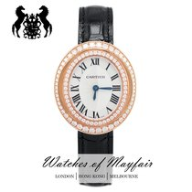 Cartier new Quartz 37.8mm Rose gold