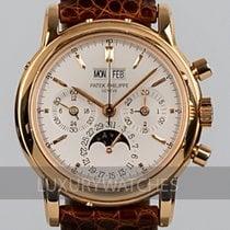 Patek Philippe Perpetual Calendar Chronograph 3970ER Zeer goed 36mm Handopwind