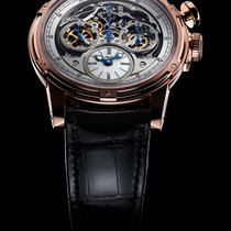 Louis Moinet Memoris Roségull 46mm Ingen tall
