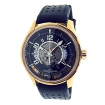 Jaeger-LeCoultre Rose gold Automatic Black Arabic numerals 44mm pre-owned AMVOX
