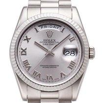 Rolex Day-Date 36 18 kt Weißgold Ref. 118239 Rhodium R