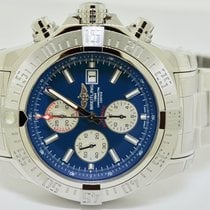 Breitling Super Avenger II Steel 48mm Blue No numerals United States of America, New York, massapequa