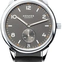NOMOS Steel 41.5mm Automatic Club Automat Datum new