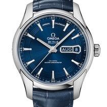 Omega DeVille Hour Vision Co-Axial Master Chronometer Annual...
