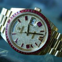 Rolex Day-Date Yellow Gold Full Diamond dial - M228398TRU