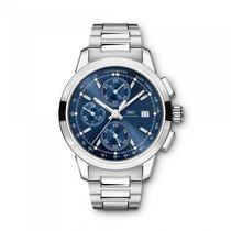 IWC Ingenieur Chronograph  Blue Dial Automatic IW380802 Mens...