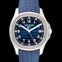 Patek Philippe Aquanaut Blue White Gold/Rubber 42.2mm - 5168G-001