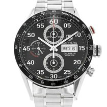 TAG Heuer Carrera Calibre 16 pre-owned 43mm Steel