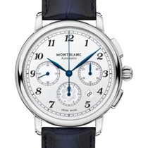 Montblanc Steel 42mm Automatic 118514 new